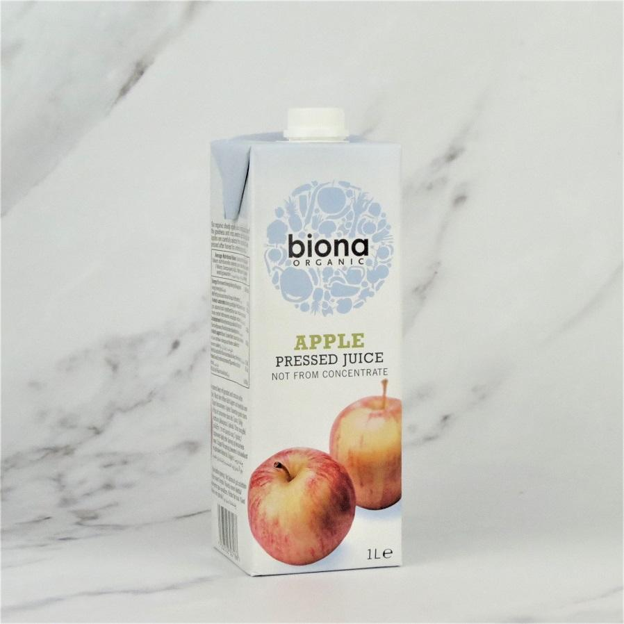 Biona Organic Apple Juice (NFC) – 6 x 1ltr