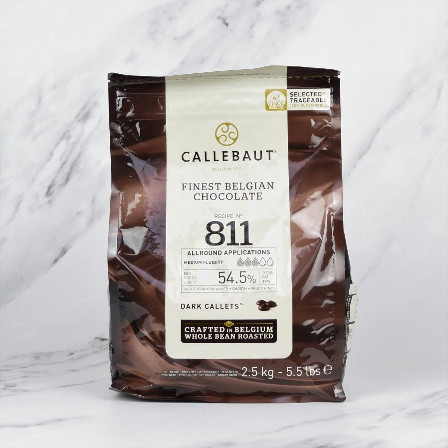Callebaut Dark Chocolate Callets – 2.5kg