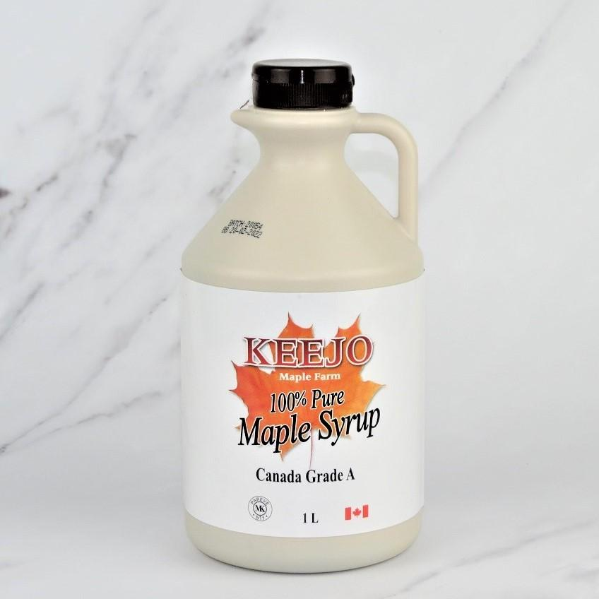 100% Pure Grade A Maple Syrup – 1ltr
