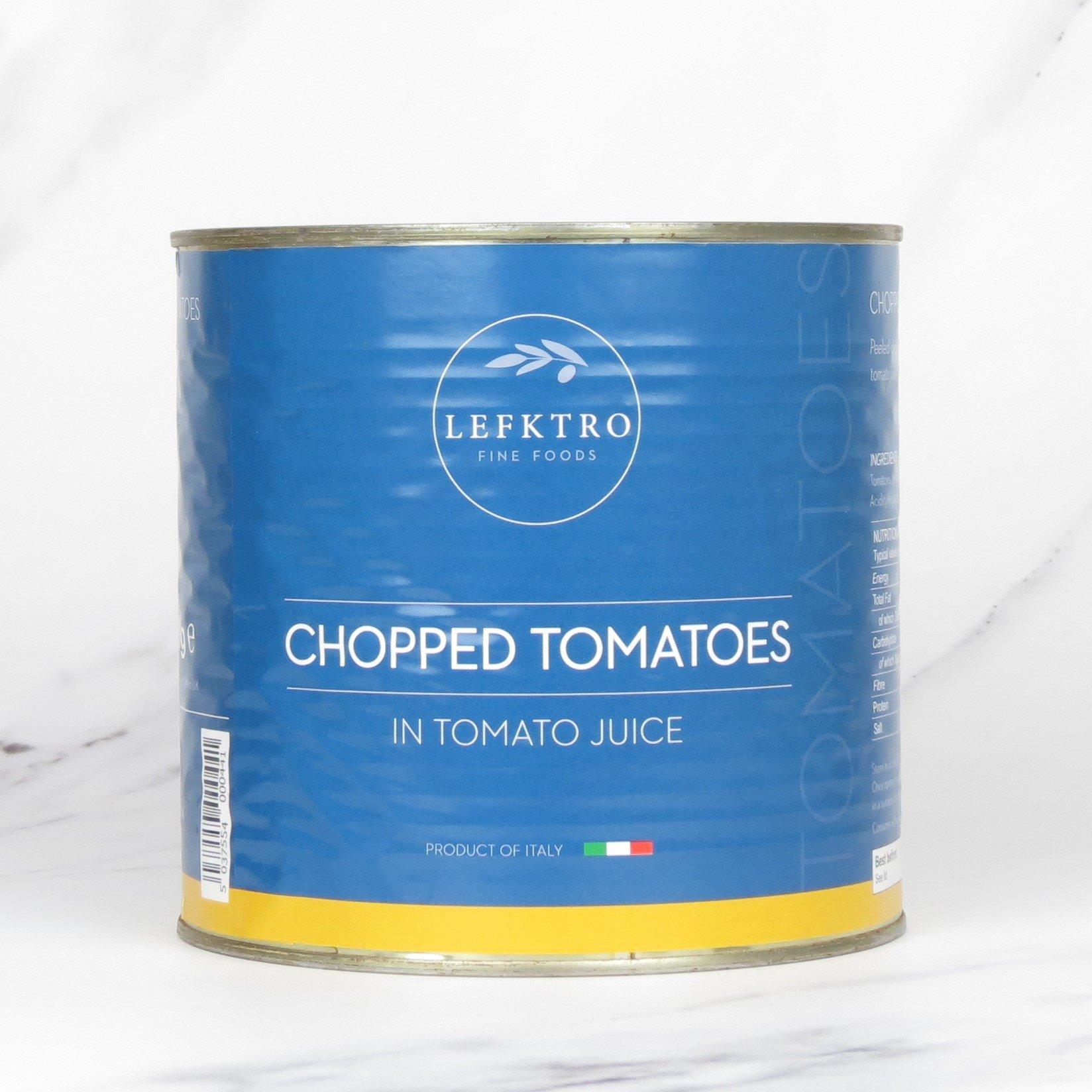 Chopped Tomatoes – 6 x 3kg