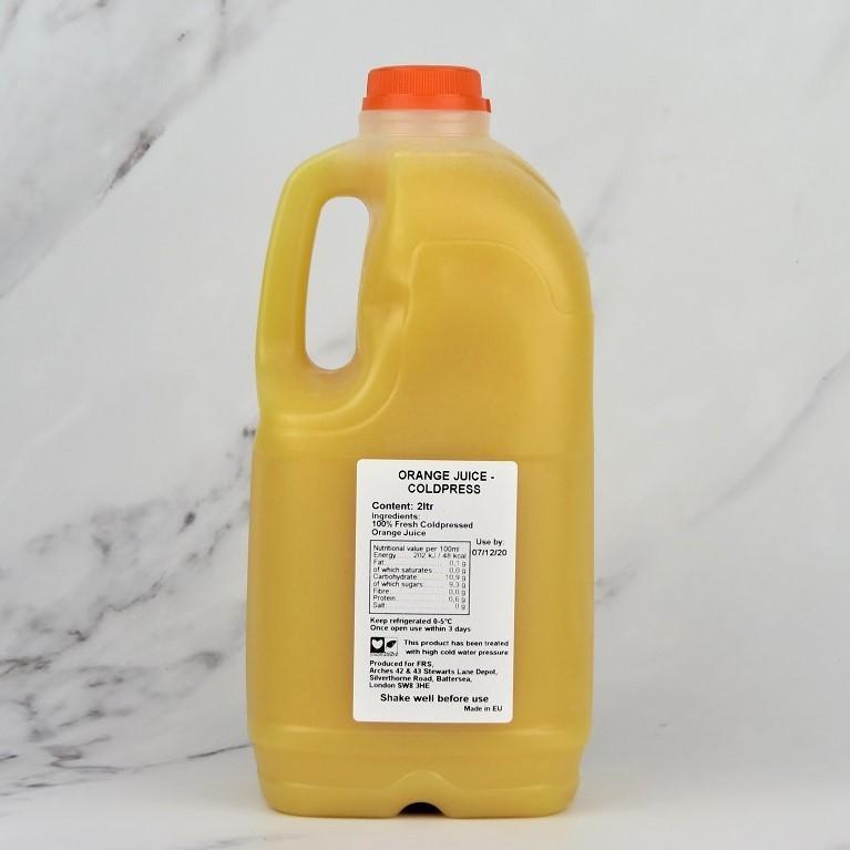 Coldpressed Orange Juice – 2ltr