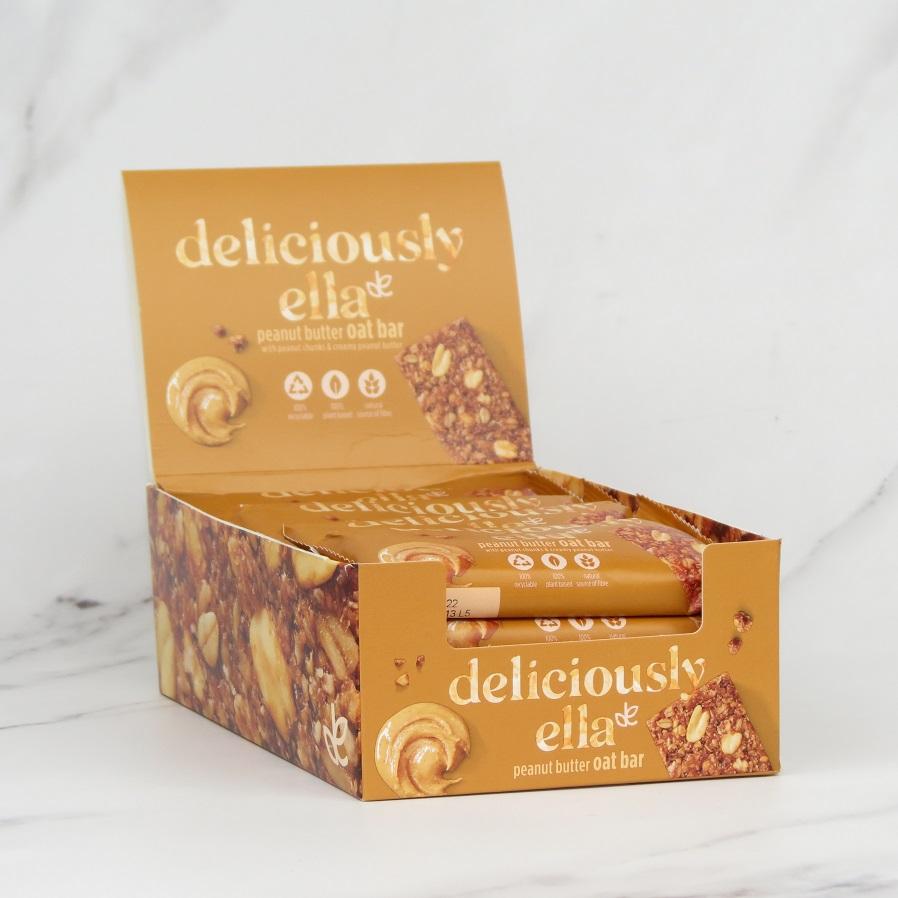 Deliciously Ella Peanut Butter Oat Bars 16 x 50g