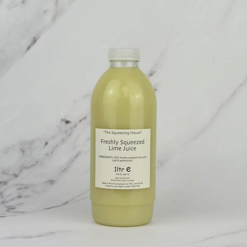 Freshly Squeezed Lime Juice – 1ltr