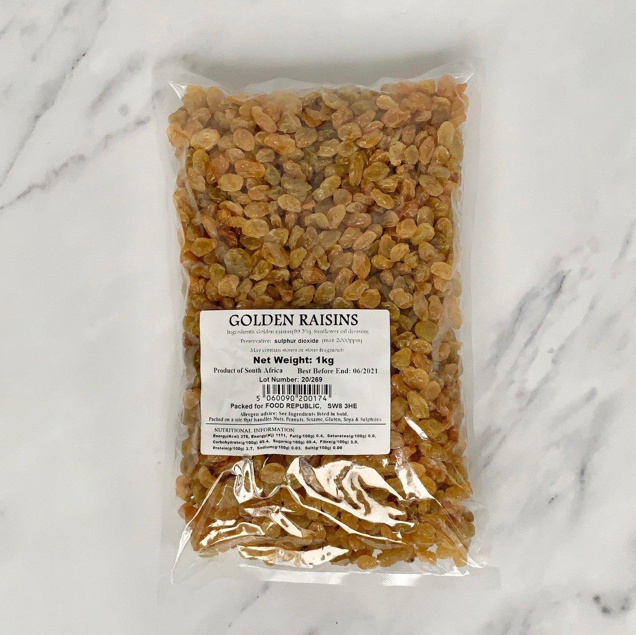Golden Raisins – 1kg