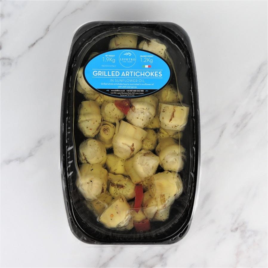 Grilled Artichoke Hearts In Oil – 2kg