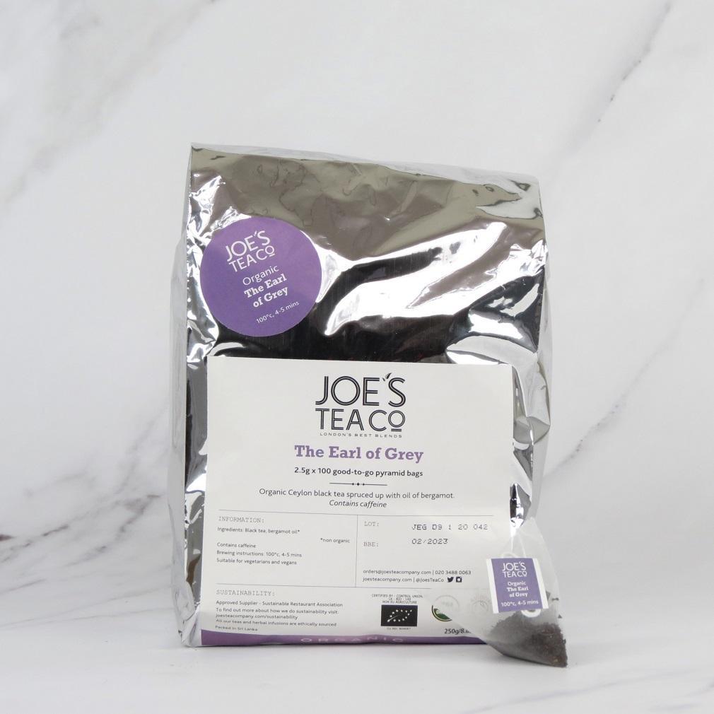Joe's Organic Earl Grey Tea – 100 bags