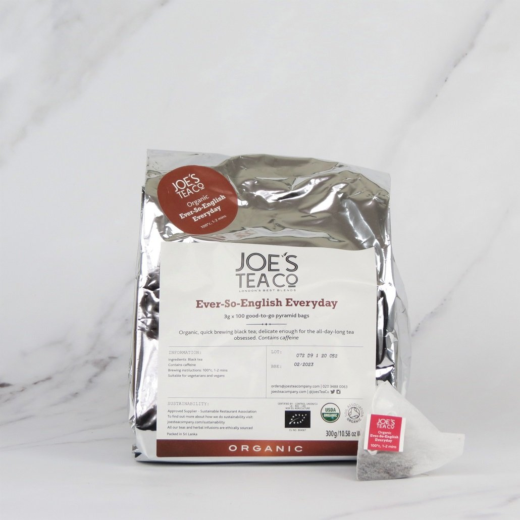 Joe's Organic English Breakfast Tea – 100 bags