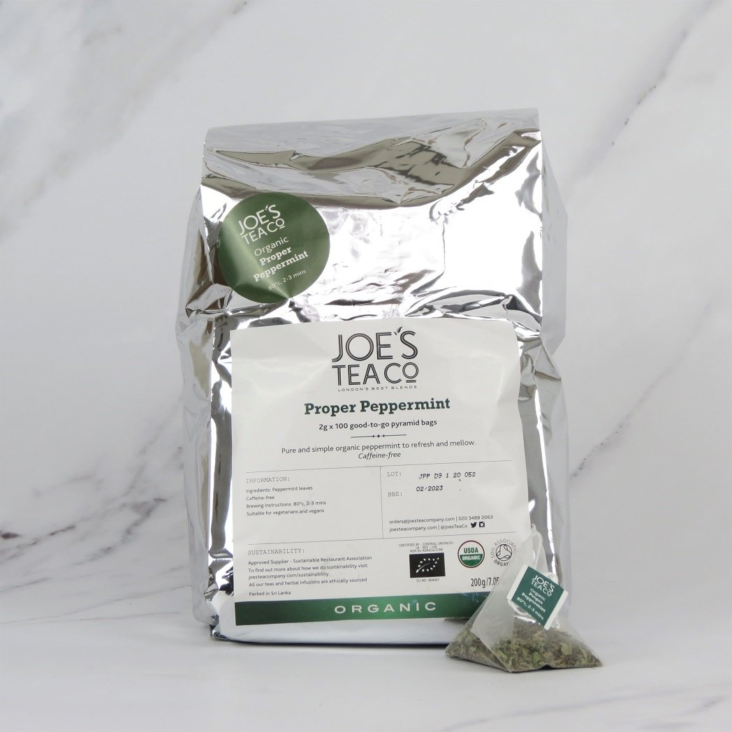 Joe's Organic Peppermint Tea – 100 bags