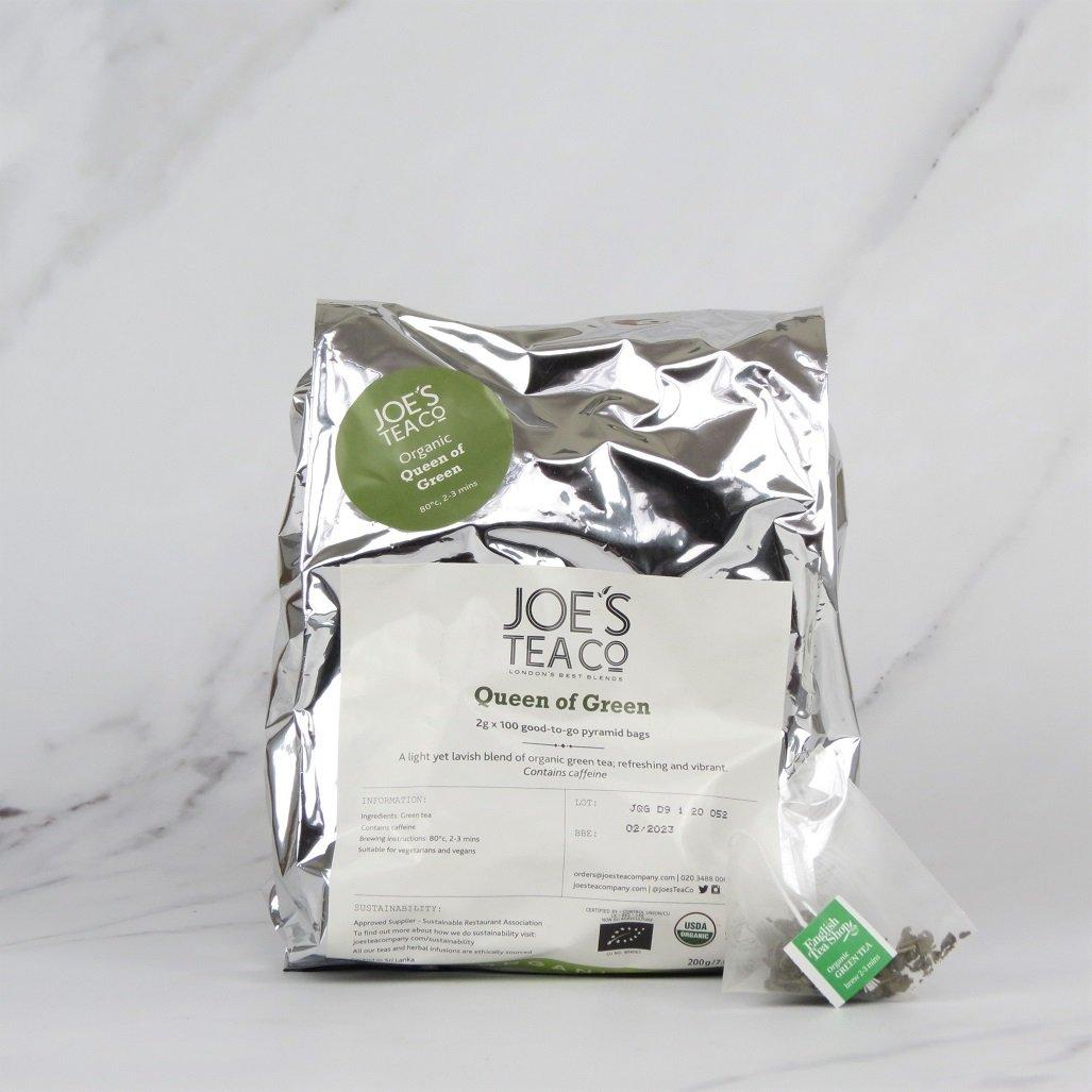 Joe's Organic Green Tea – 100 bags