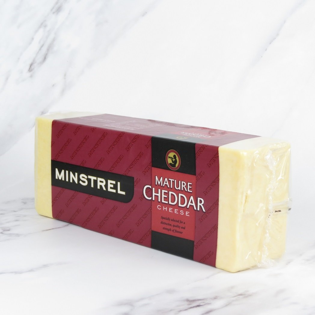 Mature White Cheddar Block – approx 5kg