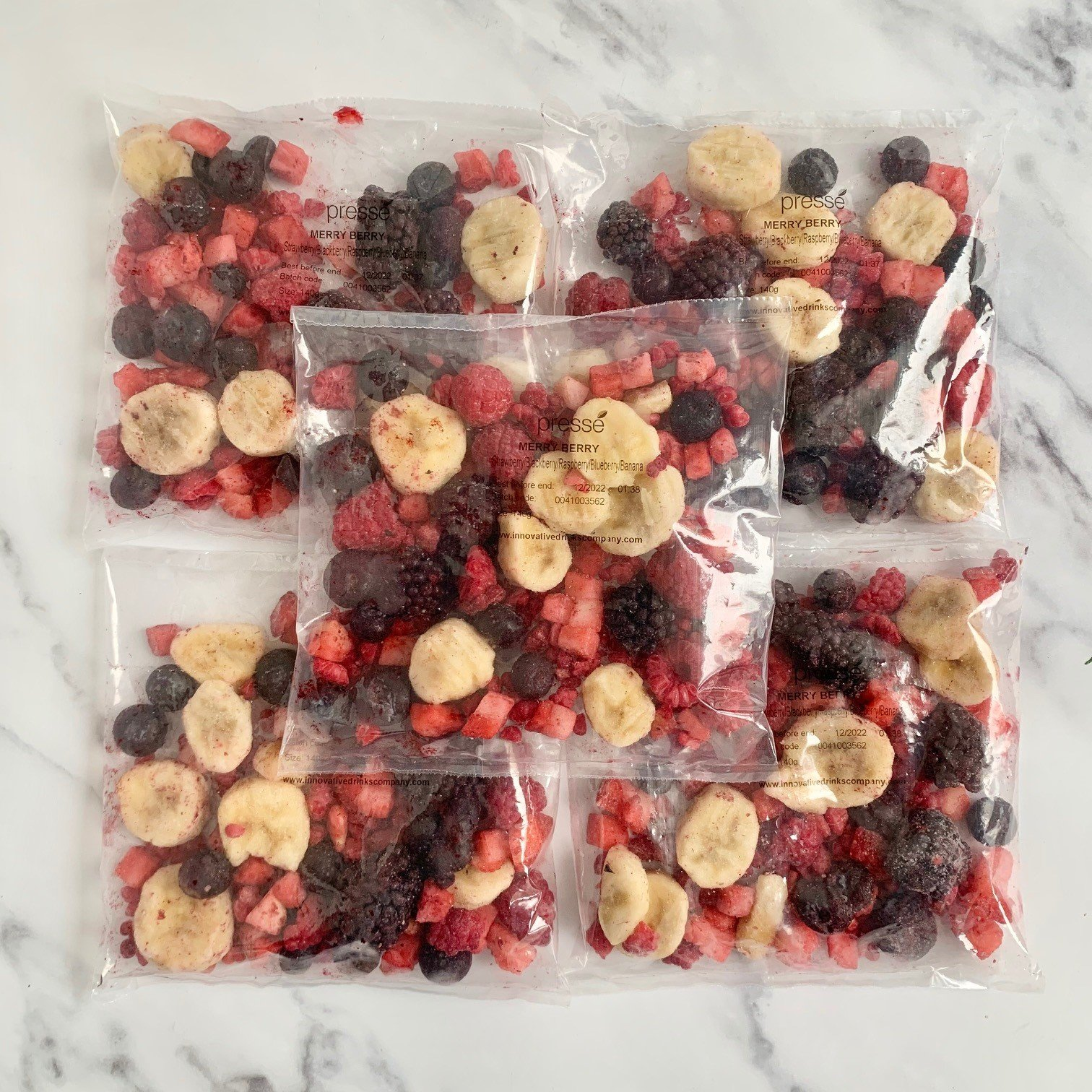 Merry Berry Smoothie Mix – 30 x 140g