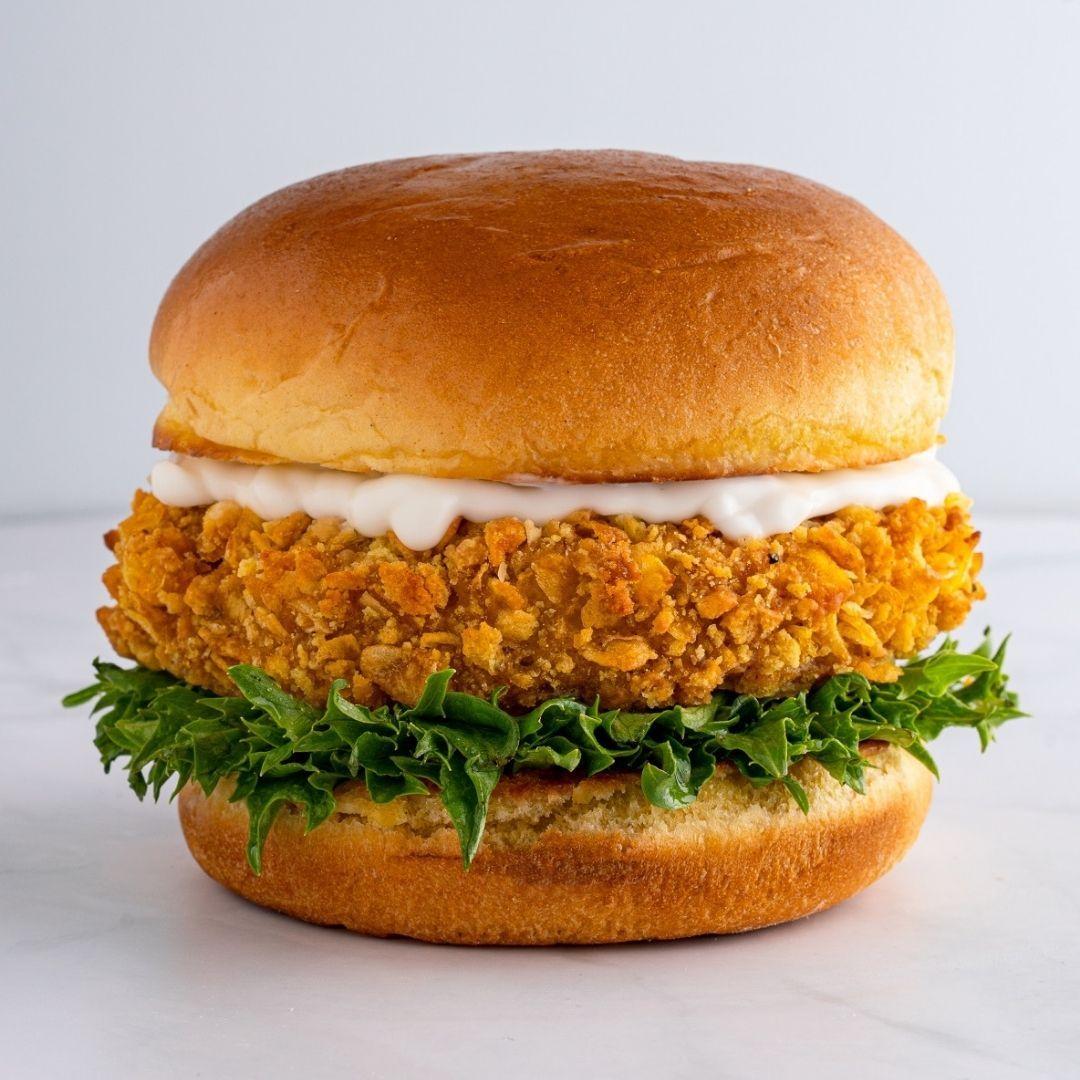 Miami Vegan Louisiana Chick'n Burgers x 40 (frozen)