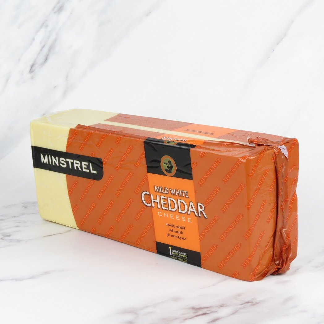 Mild White Cheddar Block – approx 5kg