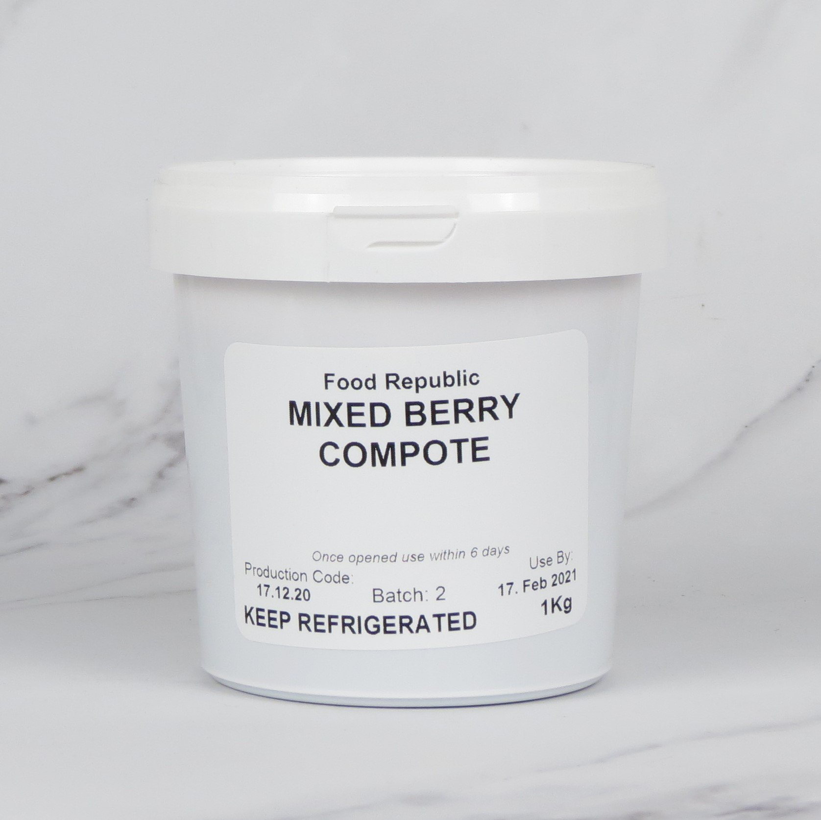 Mixed Berry Compote – 1kg