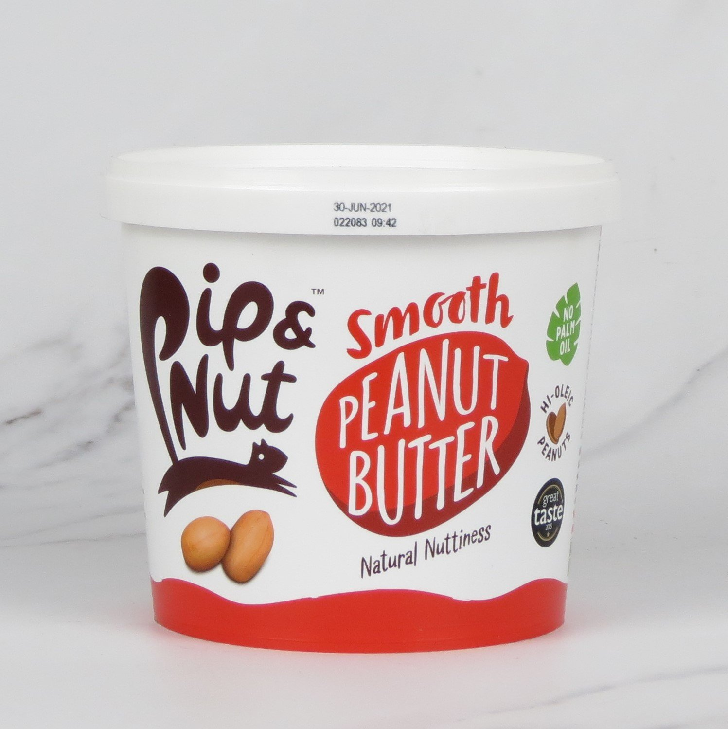Pip & Nut Smooth Peanut Butter – 1kg