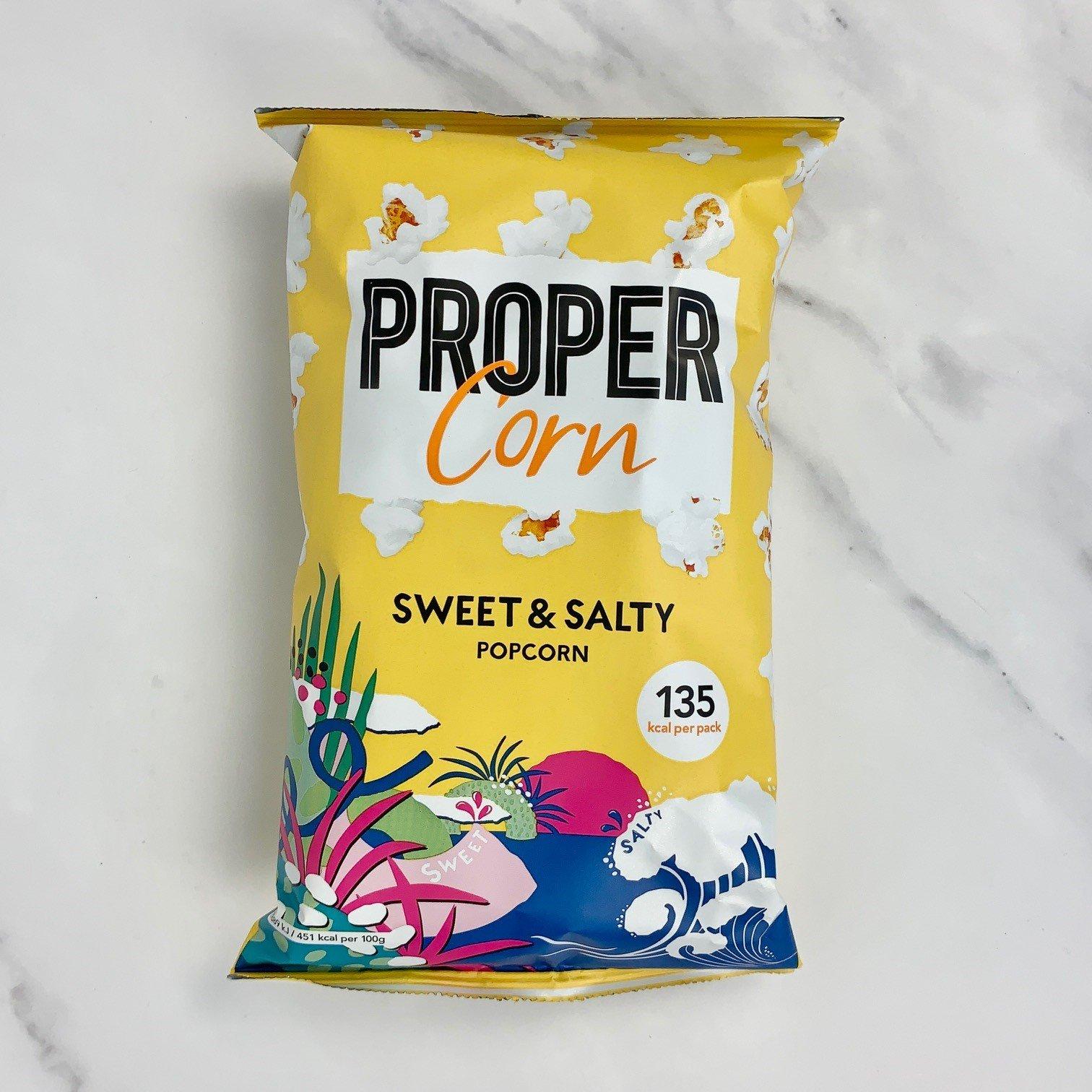 PROPER Sweet & Salty Popcorn – 24 x 30g