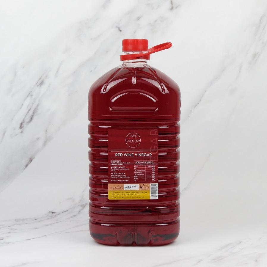 Red Wine Vinegar – 5 Litre