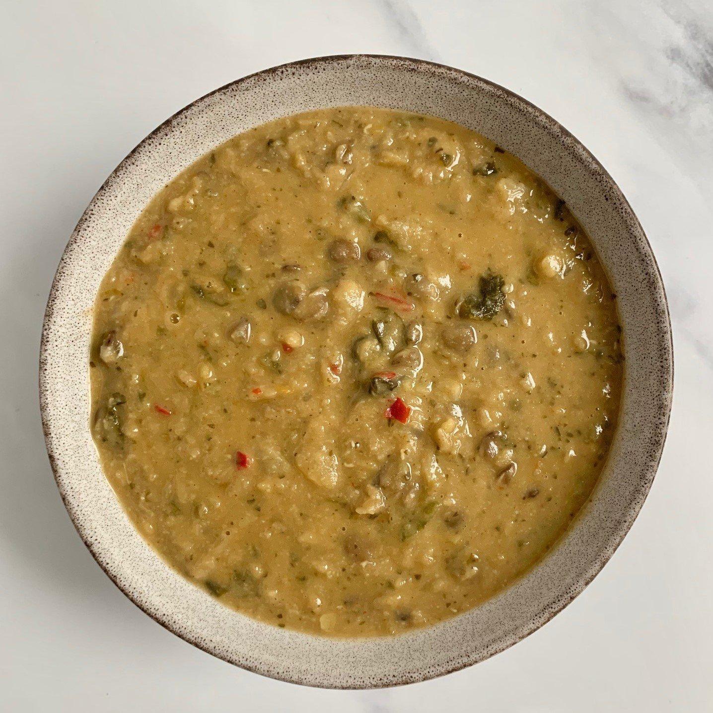 Thai Green Lentil Soup (Vegan) – 2kg