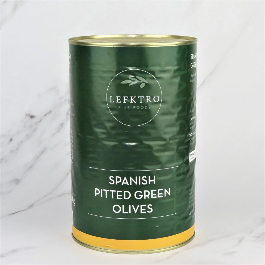 Green Pitted Olives – 5kg