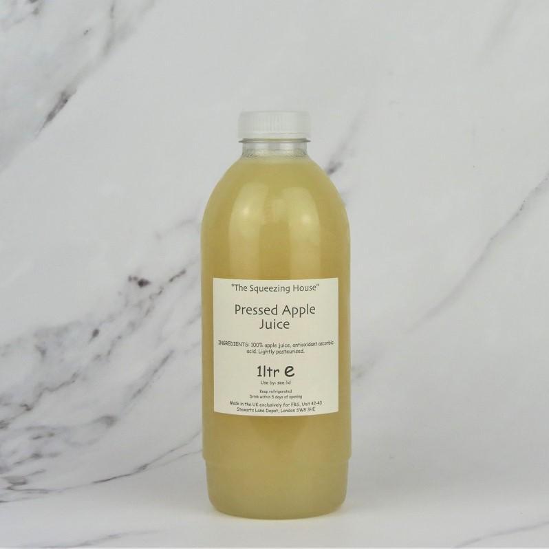 Pressed Cloudy Apple Juice -1ltr