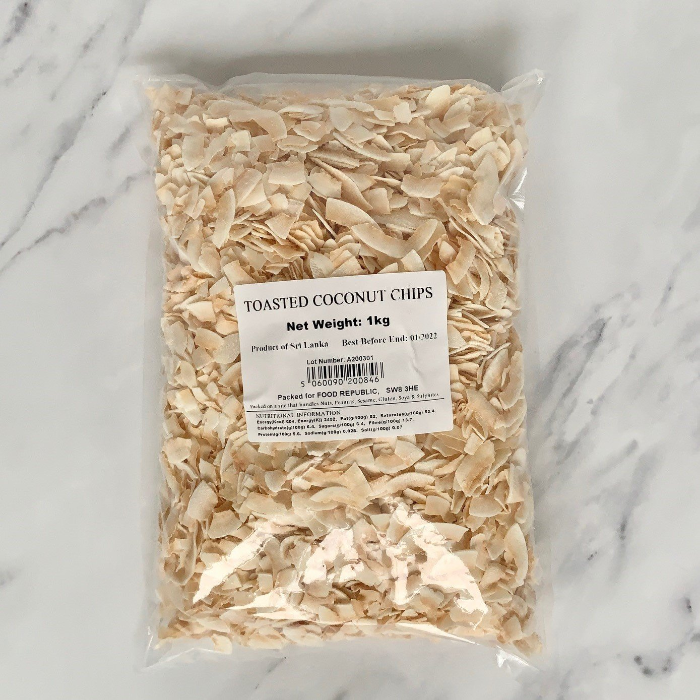 Toasted Coconut Chips – 1kg