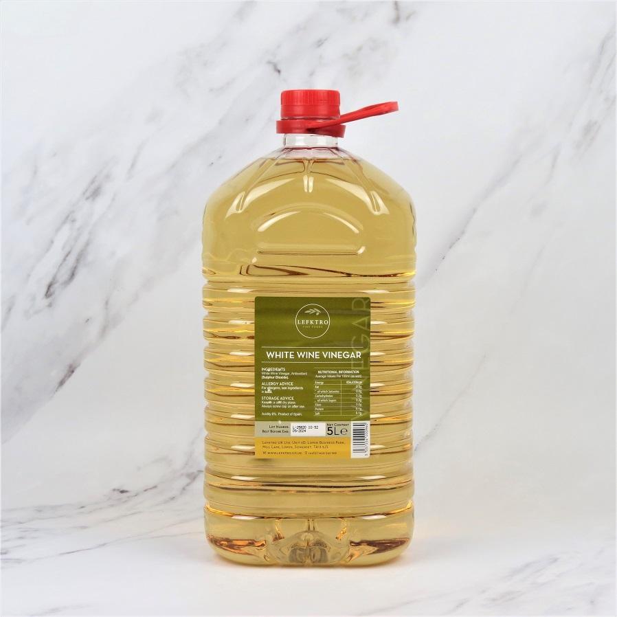White Wine Vinegar – 5 Litre