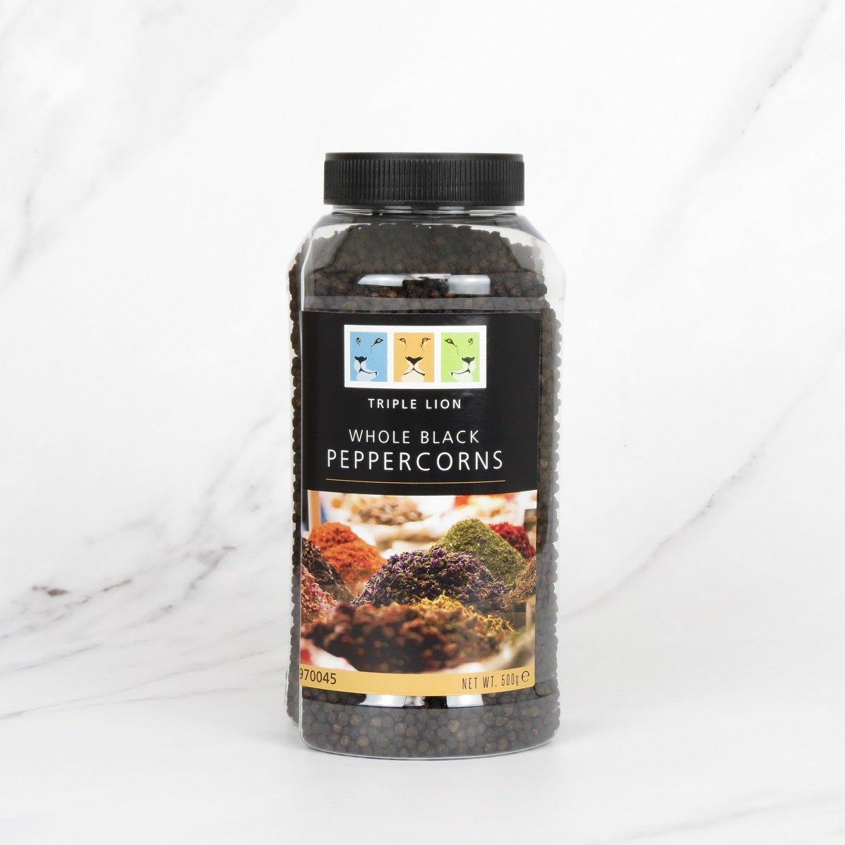 Whole Black Peppercorn – 500g