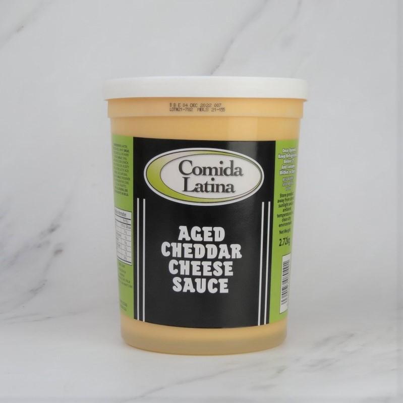 Comida Latina Aged Cheddar Sauce (6×2.72kg)