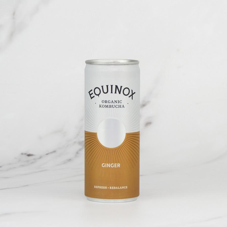 Equinox Kombucha – Ginger (24x250ml)