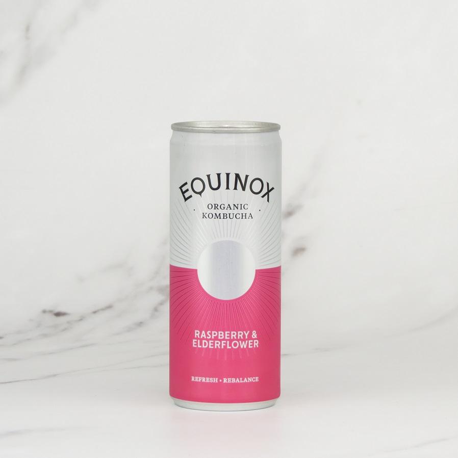 Equinox Kombucha – Raspberry & Elderflower (24x250ml)