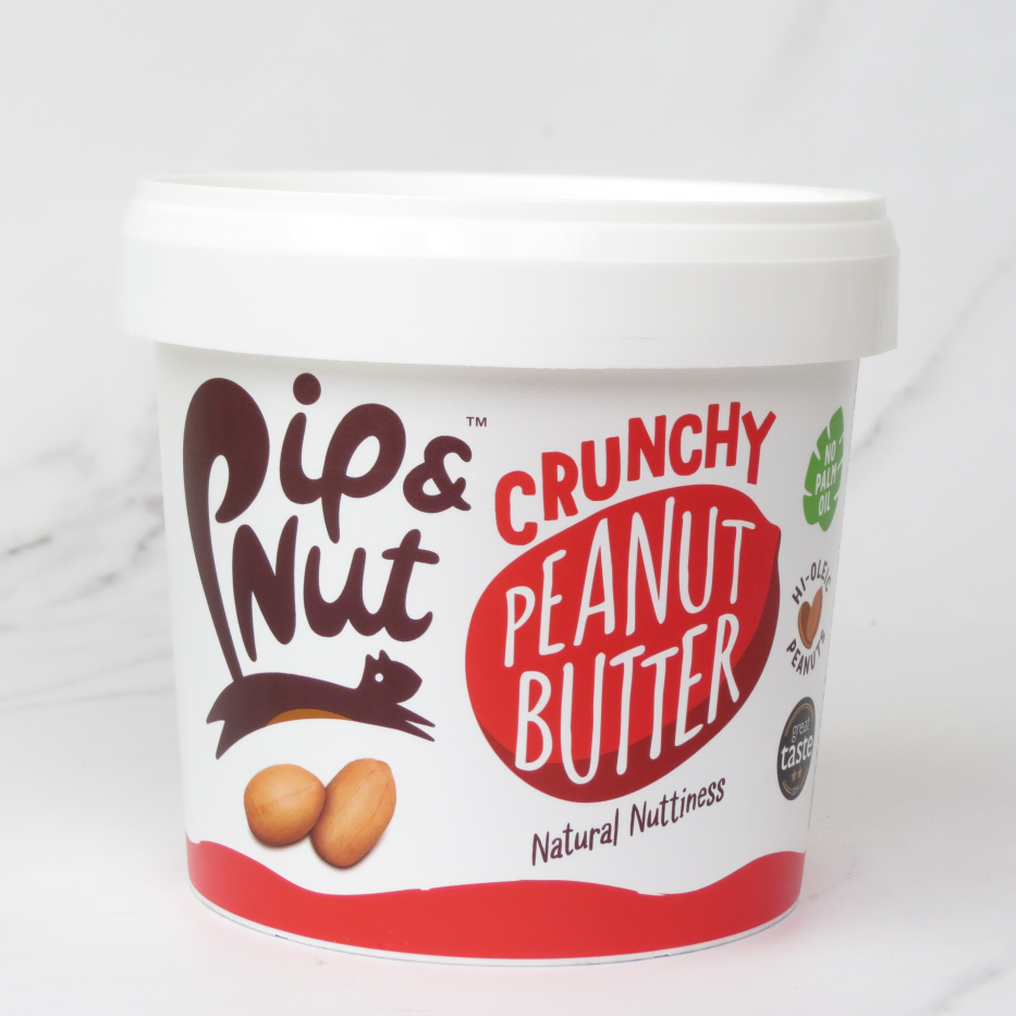 Pip & Nut Crunchy Peanut Butter – 1kg